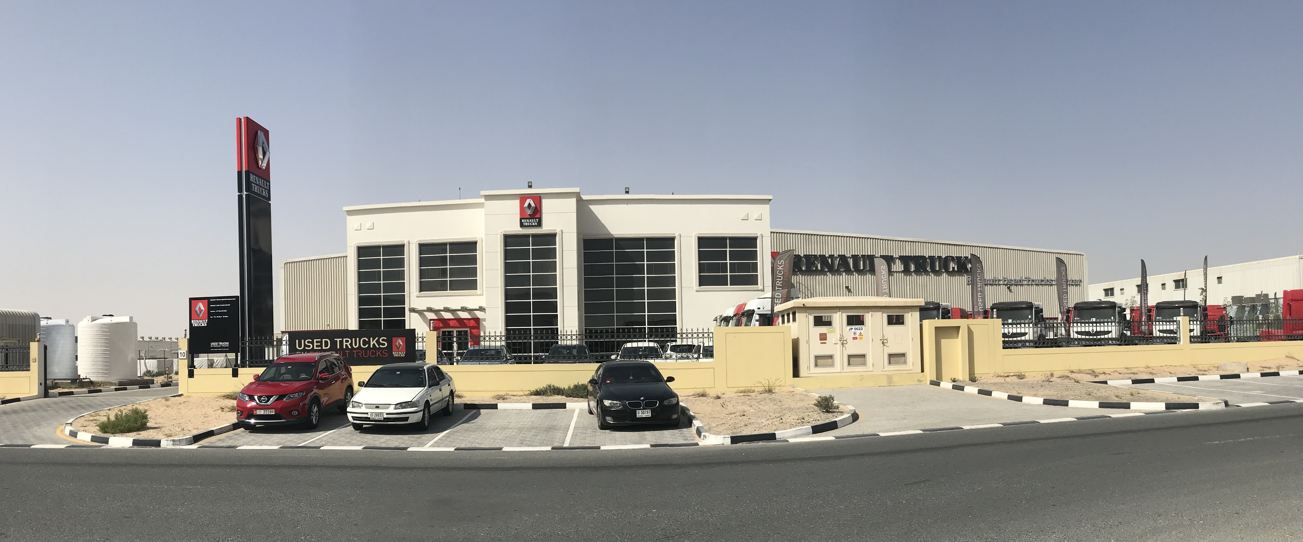 Renault Trucks Used Trucks Center in Dubai